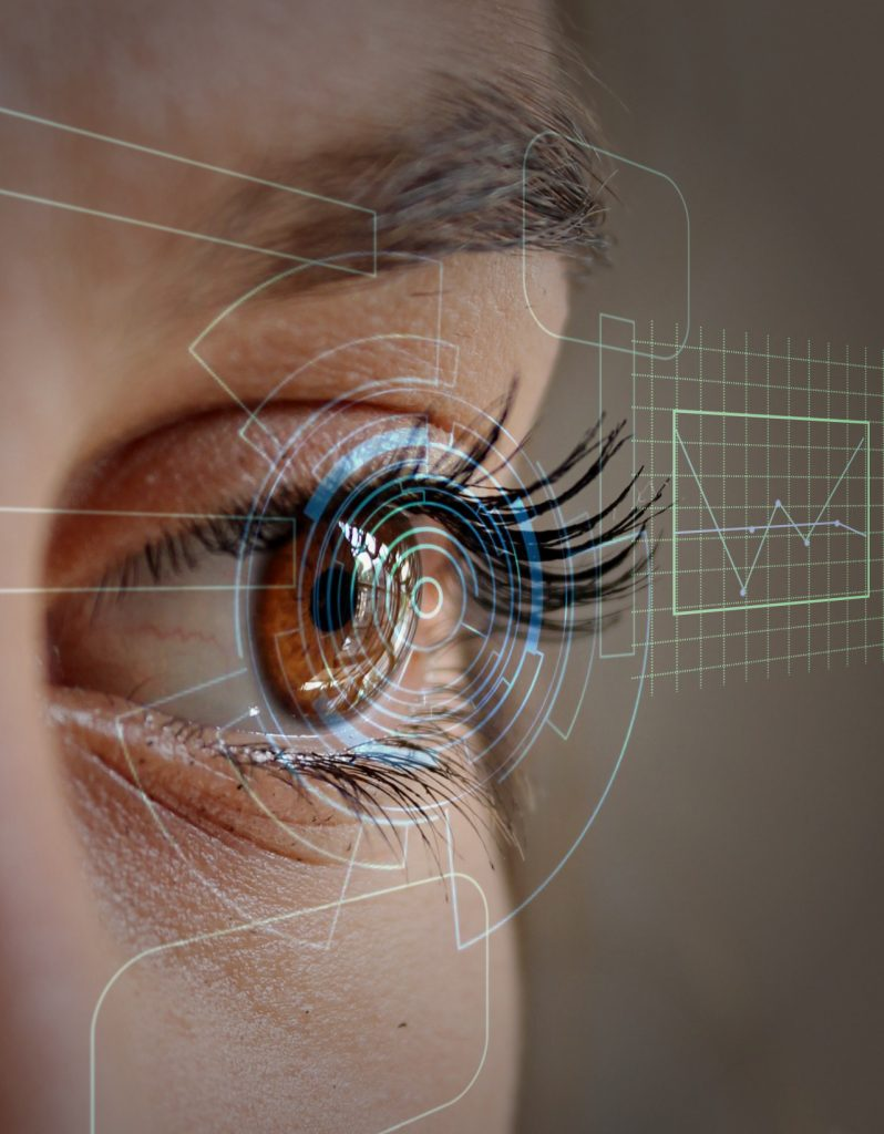 woman-face-eye-virtual interface